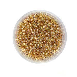 Miyuki Silver Lined Gold AB Seed Beads 8/0 (22GM/TB)