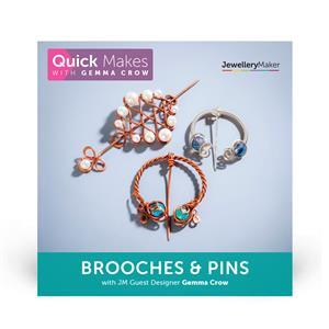 Quick Makes with Gemma Crow – Brooches & Pins DVD (PAL)