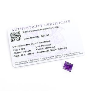 Moroccan Amethyst Gemstone Pieces 4.33cts
