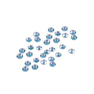 Swarovski XIRIUS Flat Back 2078 (Hot Fix) 4mm SS16 Aquamarine AHF 48 pk