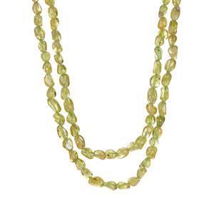 234ct Changbai Peridot Necklace