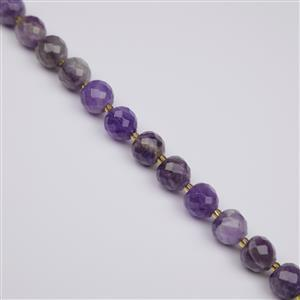 265cts Amethyst Faceted Apple Approx 10mm, 38cm