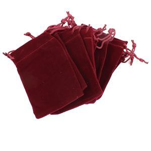 Red Velvet Pouches Approx 7x9cm (10pk)