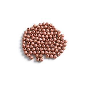 Czech RounDuo Beads, 5mm - Vintage Copper (100pcs)