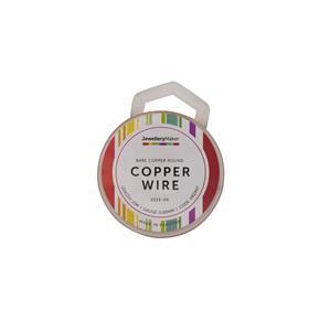 10m Bare Copper Wire, 0.8mm