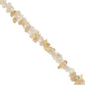 530cts Citrine Bead Nugget Approx 4x2.5 to 13x4mm, 100inch Strand