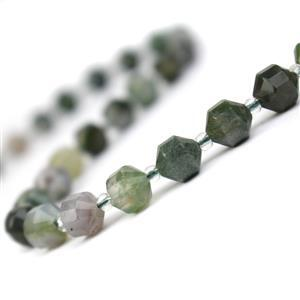 110cts Fancy Jasper Faceted Satellite Beads Approx 7x8mm, 38cm Strand