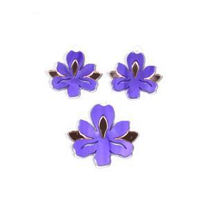 Acrylic Iris Pendant & Earring Set