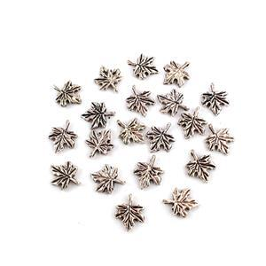 Leaf Charms Approx 17x13mm 20pk
