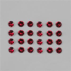 Swarovski Light Siam Round Stones 4mm 1088  24pk