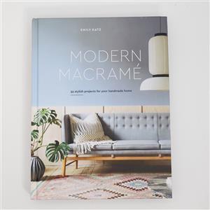 Modern Macramé Book by Emily Katz