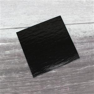 Fuseworks 90 COE Black Sheet Glass, 6x6