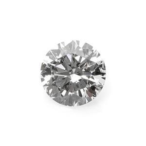 3.0mm, 0.10cts, VS1-VS2 - Brillaint Cut Round, Lab Grown Diamond, Color G