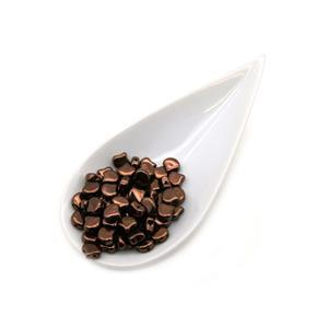 Ginko Jet Bronze Beads (22GM/TB)