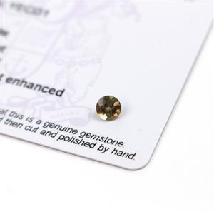 0.37cts Sopa Andalusite 5x5mm Round  (N)