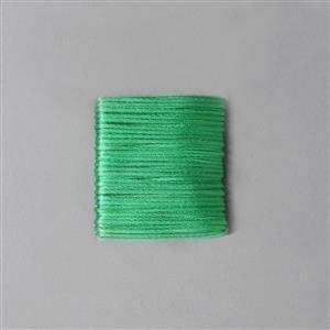 10m Green Satin Cord 1mm