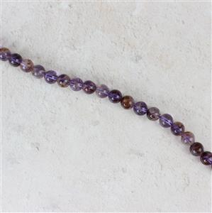 170cts Multicolour Amethyst Plain Rounds Approx 8mm, Approx 38cm/strand