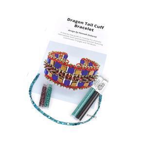Dragon Tail Turquoise; Czechmates Tile Beads, Triangle Beads x2, Miyuki 11/0 & 8/0