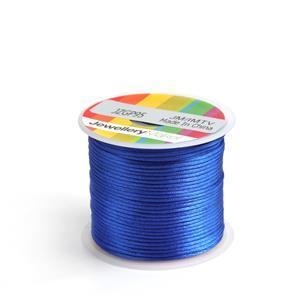 10m Royal Blue Satin Cord, 1mm