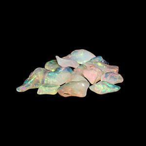 15cts Ethiopian Opal Plain Rough Nuggets.