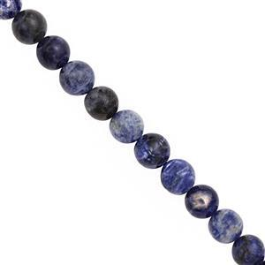 200cts Sodalite Smooth Round Approx 10 to 10.50mm, 31cm Strand