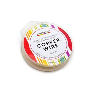 100m Silver Plated Copper Wire Approx 0.25mm