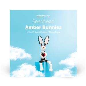 Seedbead Amber Bunnies with Alison Tarry