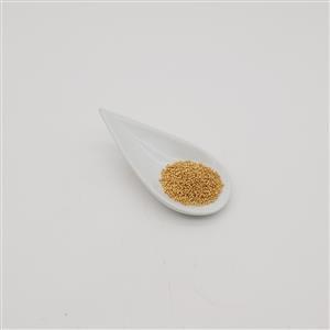 Miyuki Duracoat Galvanised Champagne Gold 15/0 (8.2GM/TB)