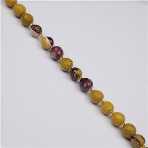 210cts Mookite Faceted Apple Approx 10mm, 38cm