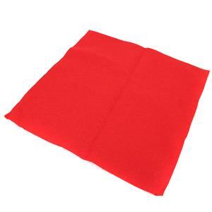 Red Oriental  Wool Felt Approx 30x30cm (1 sheet)