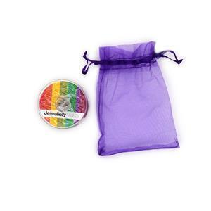 Rose Gold Colour Essential Threading Pack - 10m Beading Thread, 10m Elastic, 10m Monofilament