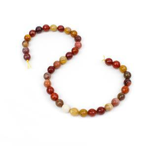 240cts Mookite Faceted Rounds Approx 10mm, 38cm Strand