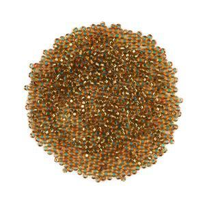Miyuki Duracoat Silver Lined Dyed Amber Gold Seed Beads 11/0 (23GM/TB)