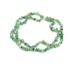 300cts Green Aventurine Small Nuggets Approx 4x5-6x12x8mm, 84cm