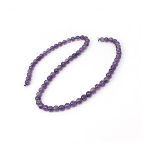 90cts Amethyst Plain Rounds Approx 6mm 15-16