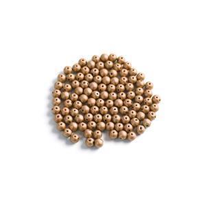 Czech RounDuo Beads, 5mm - Aztec Gold (100pcs)