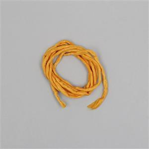 1m Pumpkin Silk Strings Approx 2mm