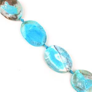 1000cts Pastel Blue Agate Faceted Slab Appox 33x42 -51x37mm, 38cm