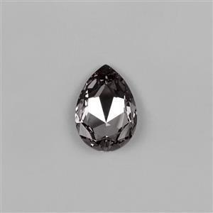Black Diamond Swarovski Pear Fancy Stone 30x20mm 4327 1pk