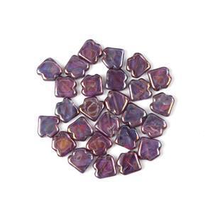 Jewellery Maker Czech Dart Beads by Mark Smith - Crystal Iris (25pcs)