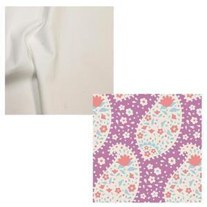 Tilda Teardrop Plum Stylish Shopper Fabric Bundle (2m)