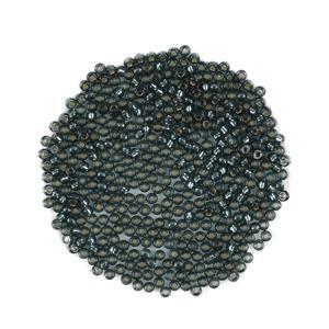 Miyuki Duracoat Silver Lined Dark Green Seed Beads 8/0 (22GM/TB)