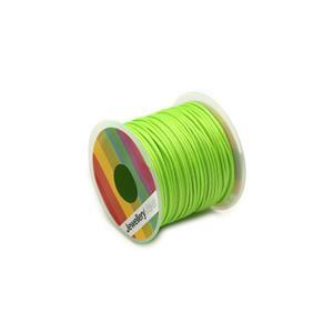 10m Spring Green Wax Cord 1mm