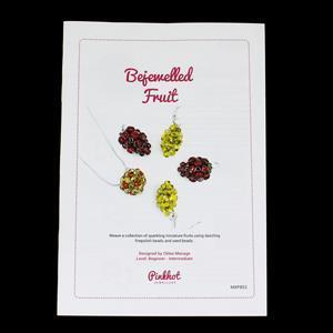 Bejewelled Fruit Booklet by Chloe Menage