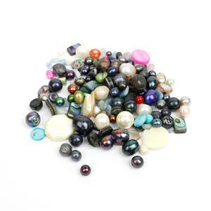 500cts Ocean Inspired Gemstone Scoop - Assorted Shapes & Sizes