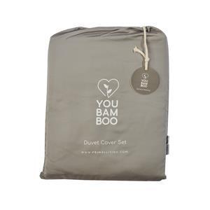 YouBamboo Superking Size Bedding Set - Grey