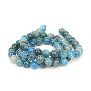 110cts Apatite Plain Rounds Approx 6mm, 38cm
