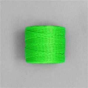 70m Neon Green Nylon Cord 0.4mm