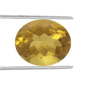 1.4cts Burmese Amber 12x10mm Oval  (N)
