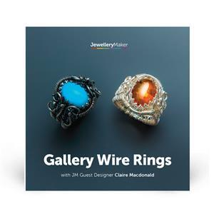 Gallery Wire Ring with Claire DVD (PAL)